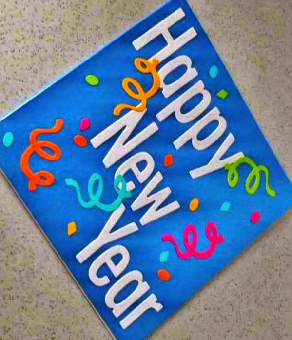 Happy new year 2018 handmade card designs crafts to get ideas 2016 new year handmade ggreeting cards thecheapjerseys Choice Image