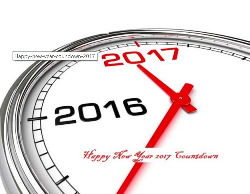 2017 New Year Countdown Images