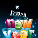 3D New year 2016 HD wallpapers for mobile phone