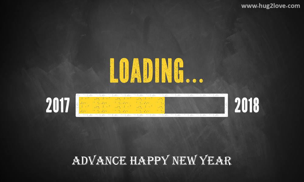 Advance Happy New Year 2018 Wallpaper HD