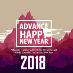 25 Advance Happy New Year 2018 Quotes Wishes with Images