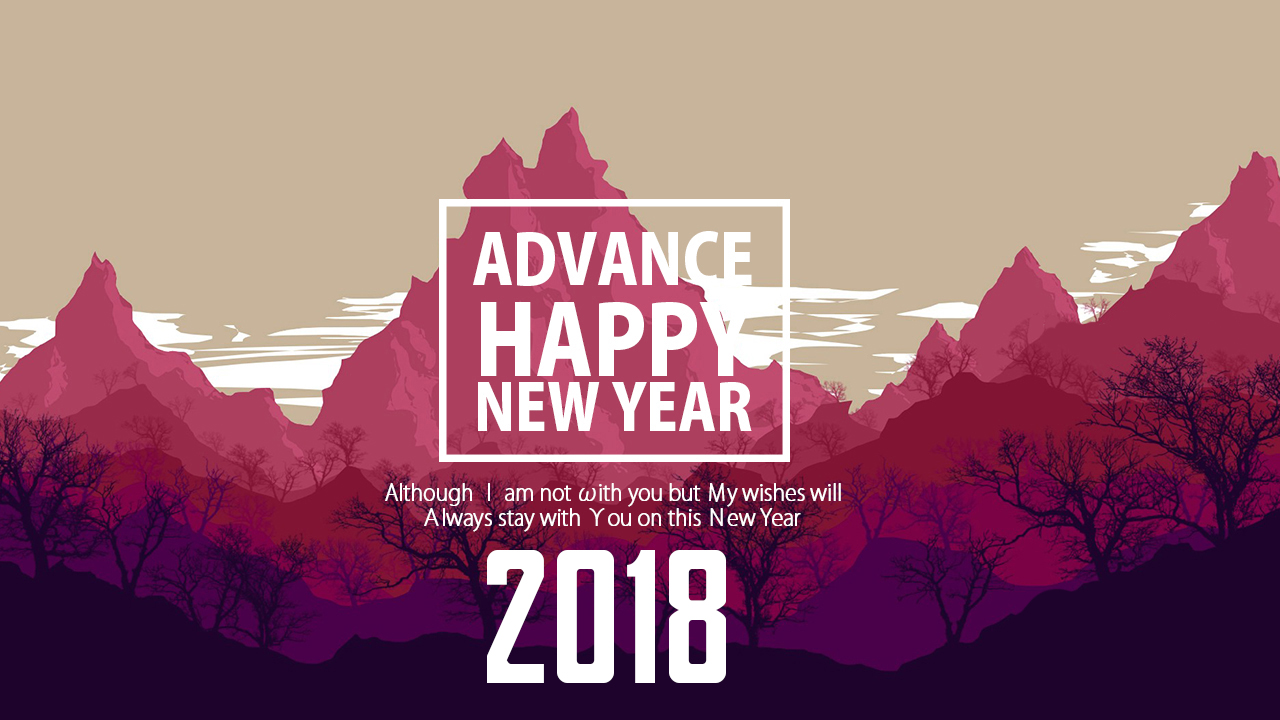Advance New Year 2018 Wishes