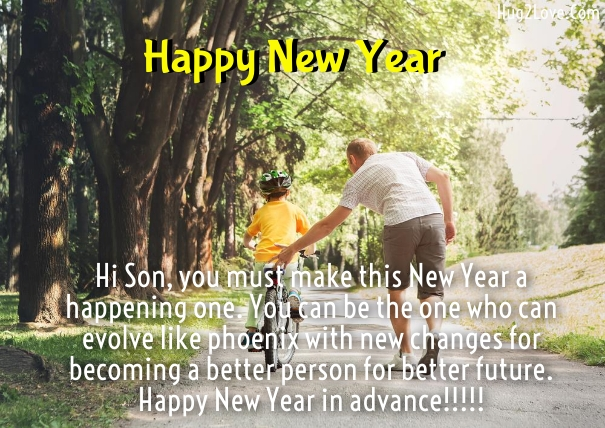 Best New Year 2017 wishes Son