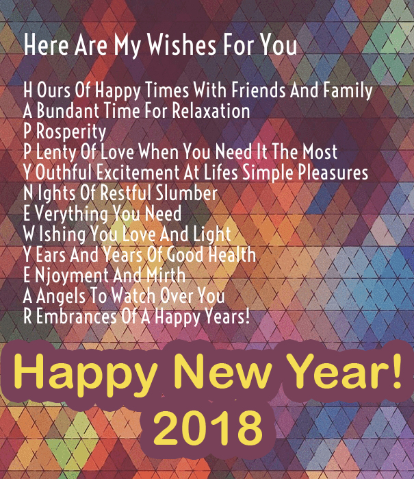 Best New Year 2018 Quote Image. 2018 Happy New Year Eve Wishes Messages  Quote
