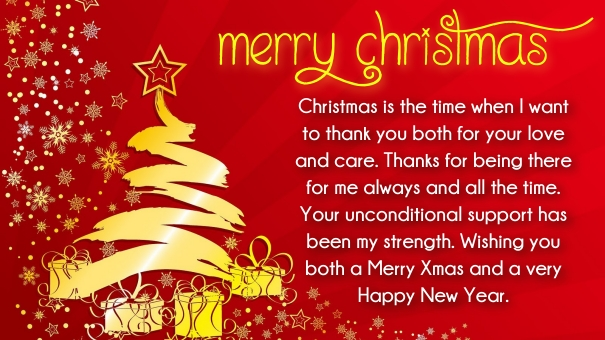 Great Christmas Messages For Parents From Children