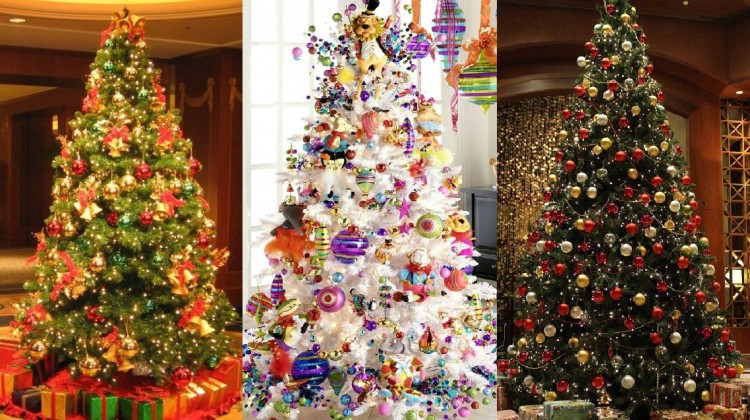 29 Inspirational Christmas Tree Decorating Ideas 2017 – 2018 with ...