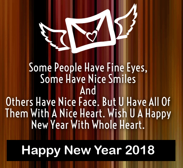 Cute New Year 2018 Wishes