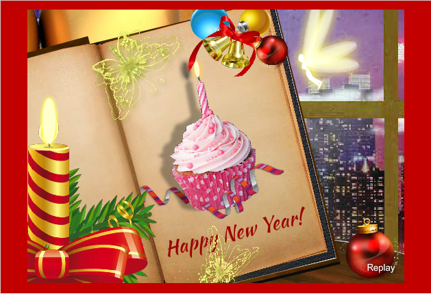Unique Happy New Year Greeting Ecards 2019 To Send Online