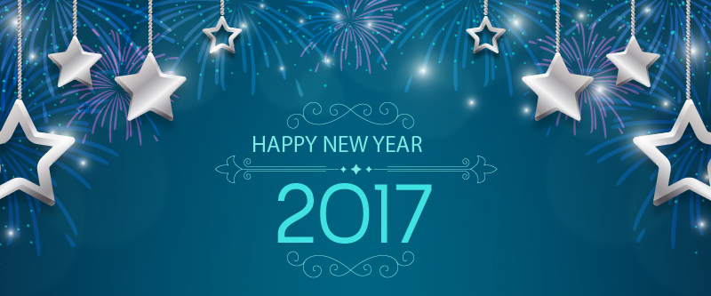New Year 2017 FB cover photos
