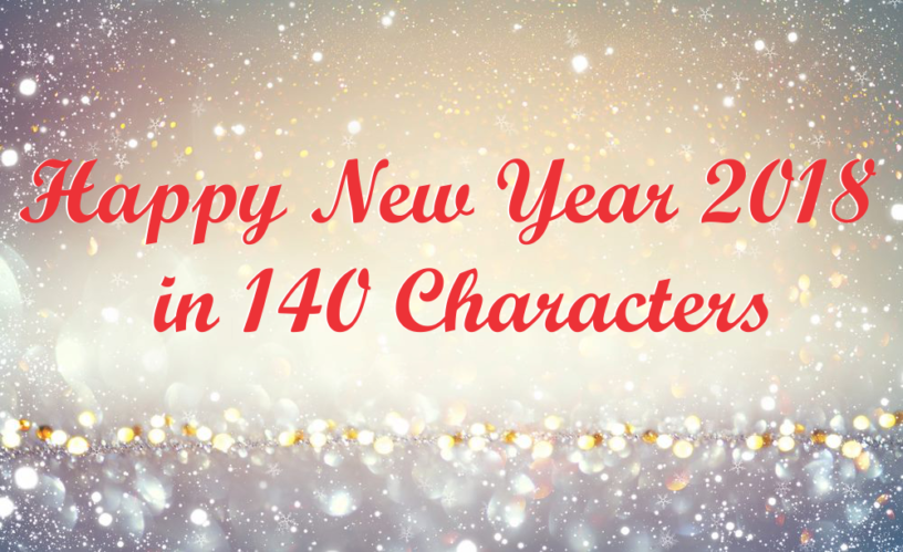 Happy New Year 2018 140 Characters Thumb 816x499