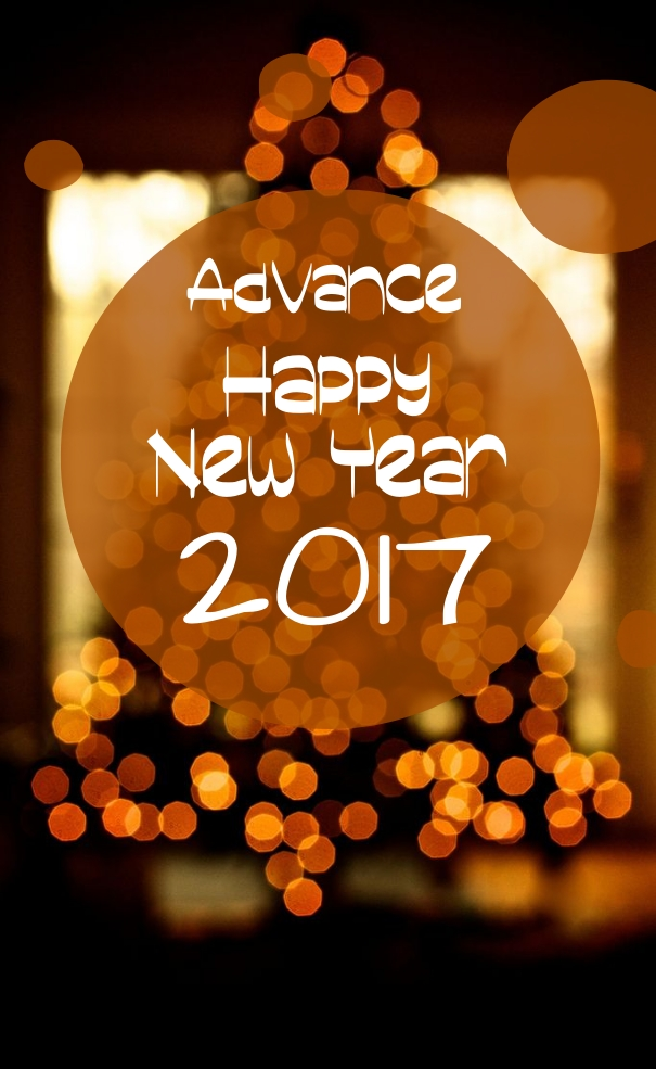 Happy New Year in Advance 2017 Images Quotes Wishes