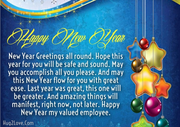 20 happy new year 2018 wishes for employees with images happy new year message to employees from ceo m4hsunfo Image collections