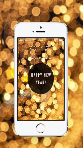 Mobile phone New year 2016 wallpapers themes iphone android