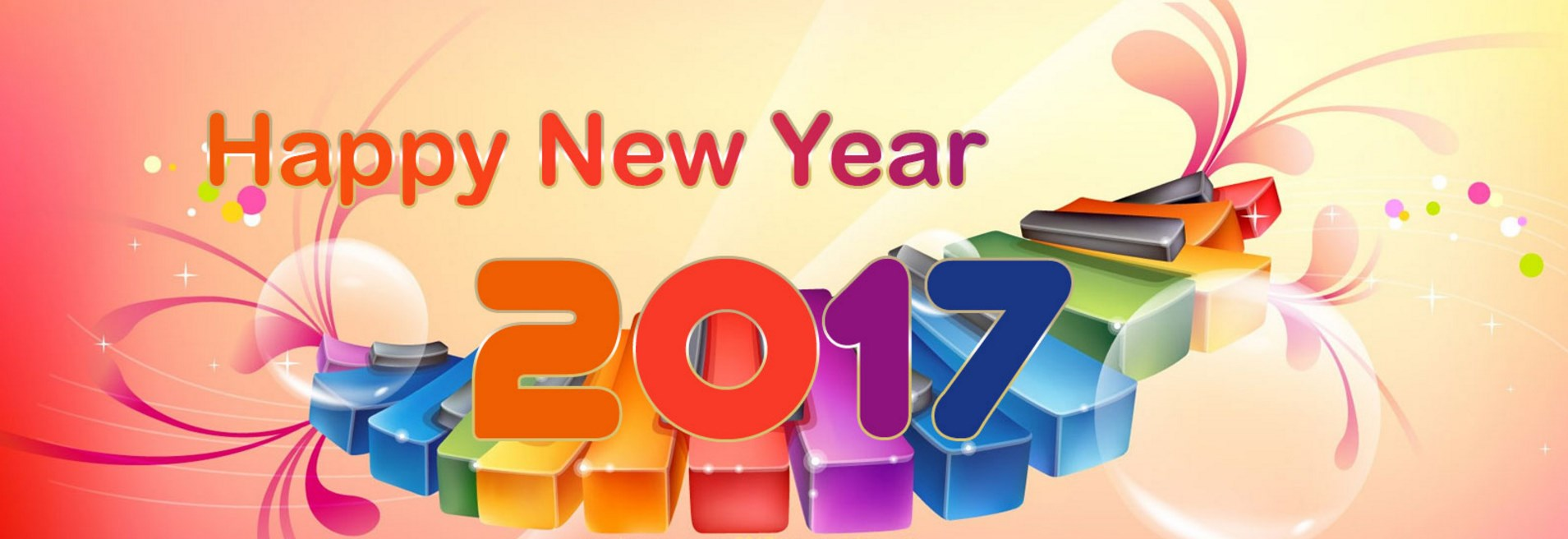 New Year 2017 Facebook Covers