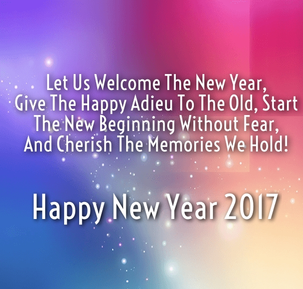 Inspirational New Year 2018 Greeting and Wishes - Happy New Year 2018 Quotes ...