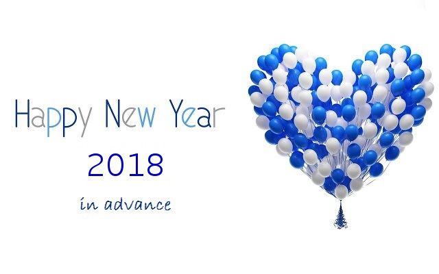 New Year Advance Wishing Quotes 2018