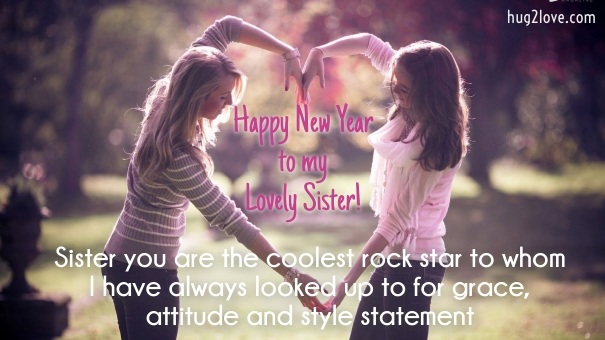 New Year Sister Wallpaper Images For Fb