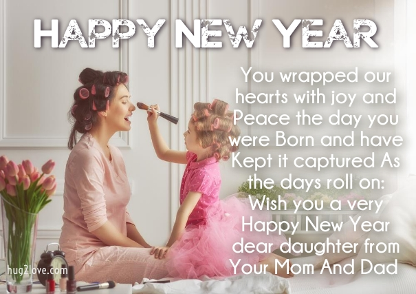 36 Happy New Year 2019 Wishes for Daughter with Love Images - Happy ...