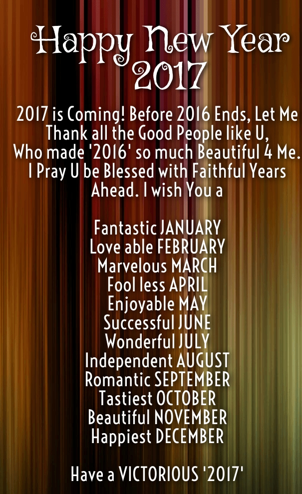 New Year 2017 Statuses for Instagram - Happy New Year 2018 Quotes Wishes Sayi...