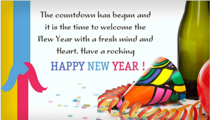 Romantic New Year 2019 Wishes Quotes with Pictures - Happy New Year ...