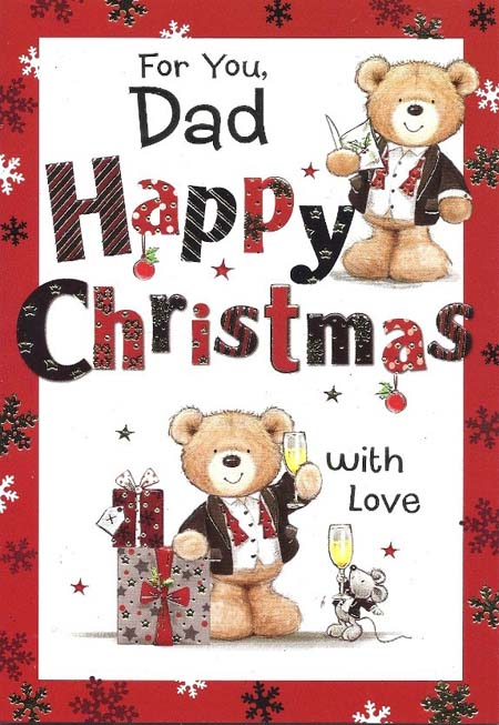 christmas poems for dad