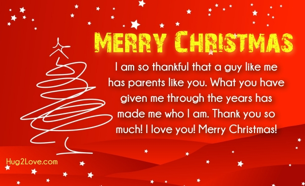 Christmas Wishes For Parents In Law