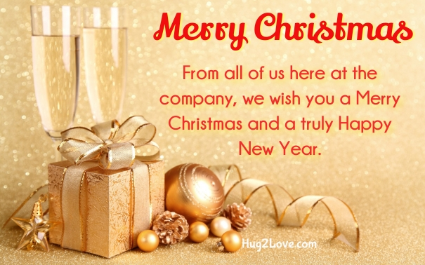 Good Christmas Wishes To Boss