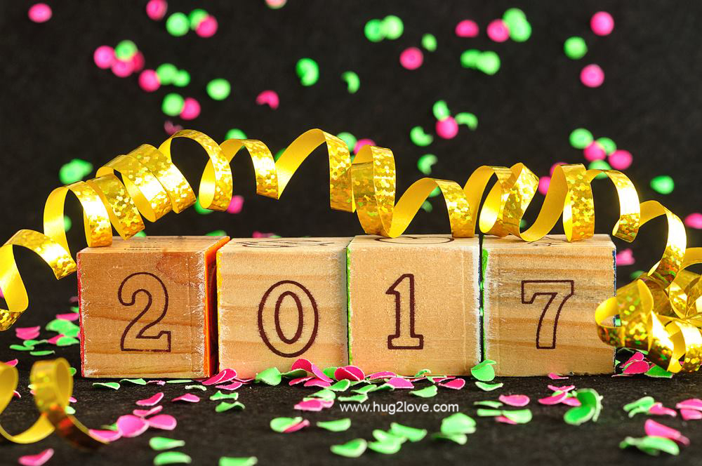 free happy new year backgrounds 2017
