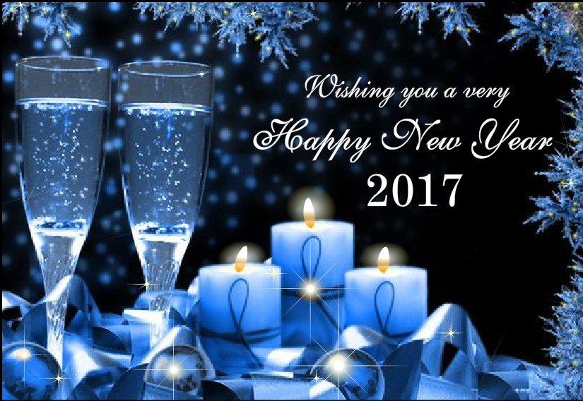 Lovely Free Happy New Year Cards Winter 2017