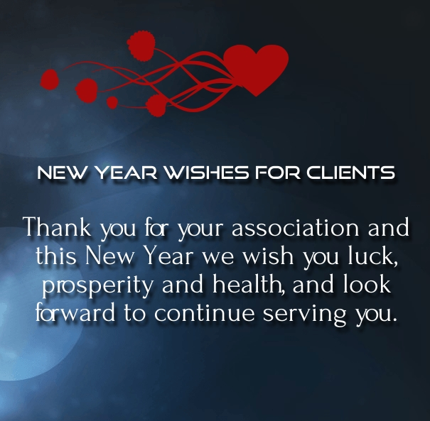Happy new year 2018 wishes for clients and customers happy new happy holidays and happy new year greetings 2016 m4hsunfo