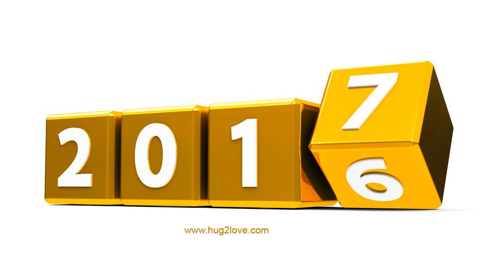 Good Bye 2017 And Welcome To 2018 Images For New Year In 3d Golden Color HD Happy