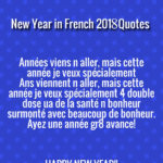 How to Say Happy New Year in French 2018 and French Greeting