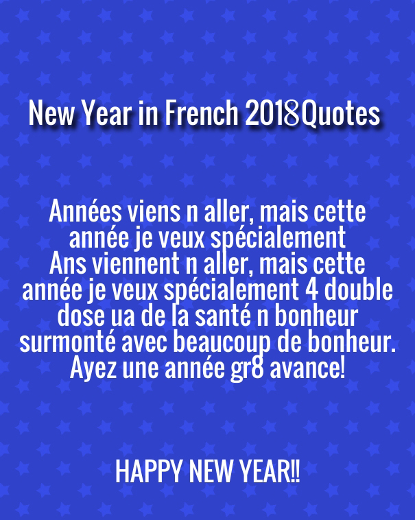 how to say happy new year wishes in french