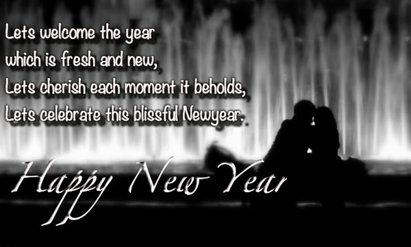 Happy new year wishes to husband