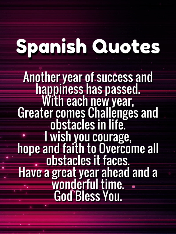 Quotes In Spanish Fair 10 Happy New Year Quotes In Spanish 2018 With English Translations