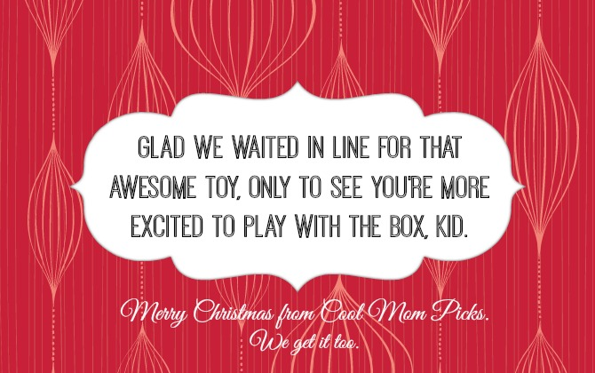 Merry Christmas From Cool Mom Picks · Quotes About A Dad