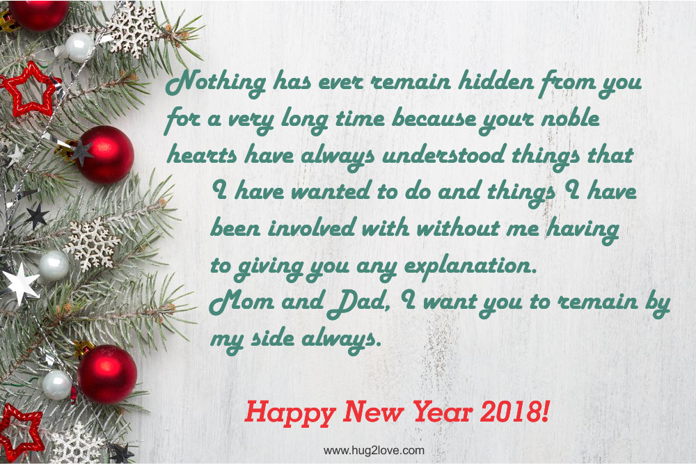 25 Happy New Year 2019 Wishes for Parents (Mother & Father) - Happy ...