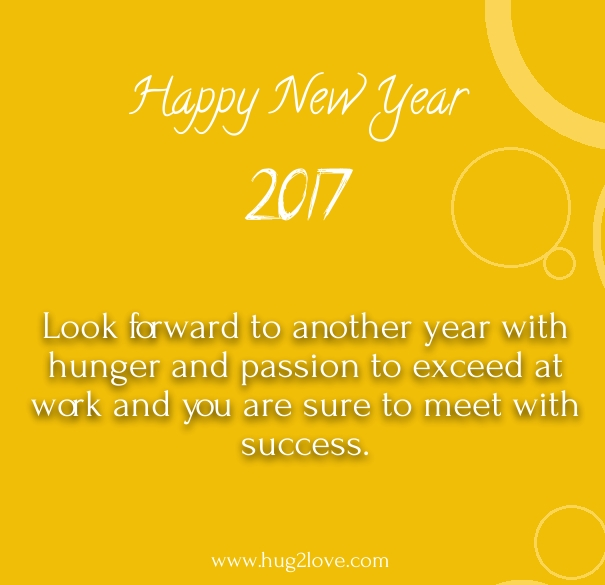 Happy New Year 2018 Wishes for Boss and Colleagues - Happy New Year 2018 Quot...