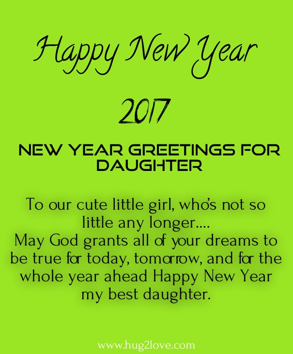 imgenes de new year wishes for my daughters