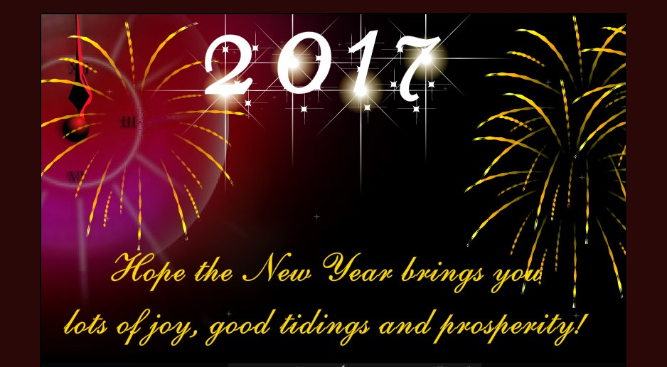 Unique happy new year greeting ecards 2018 to send online and share new year greeting card 2017 m4hsunfo