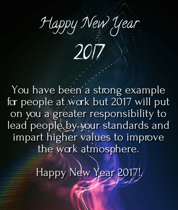 Happy New Year 2017 Quotes: Happy New Year 2018 Wishes For Boss And Colleagues