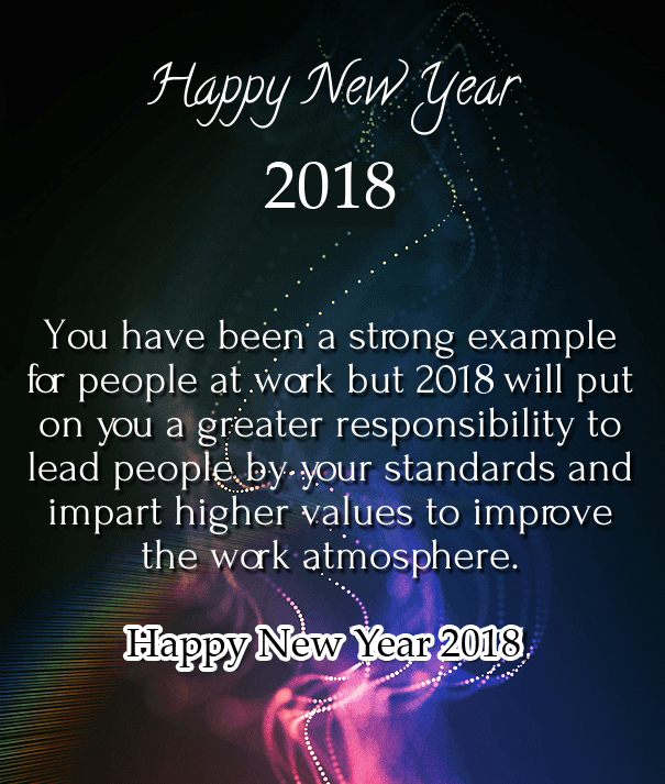 35 happy new year 2018 wishes for boss and colleagues happy new new year message colleagues 2018 m4hsunfo