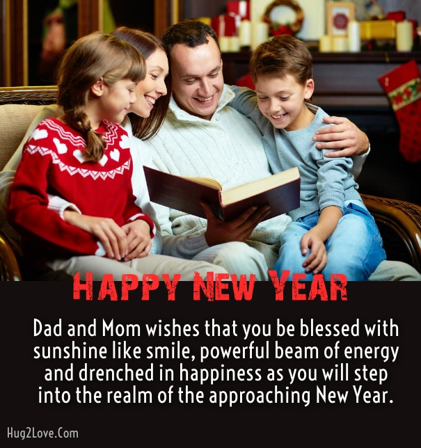 new year messages for son