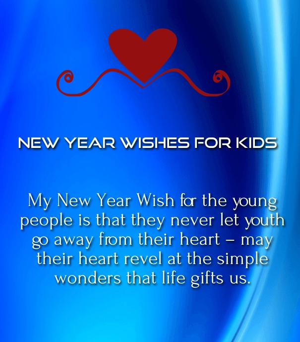 35 new year 2018 poems and quotes for kids to wish with images new years wishes greetings 2016 m4hsunfo Gallery