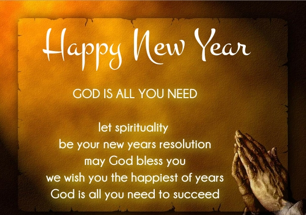 45 Religious Christian New Year 2018 Wishes from Verses ...