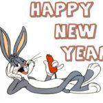Cartoon Happy New Year Funny Image For Kids