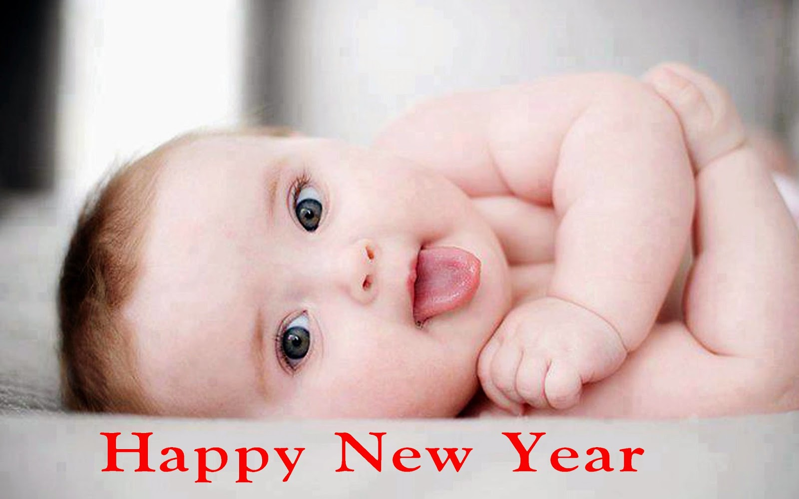 Cute Babies Happy new year 2017 hd pictures