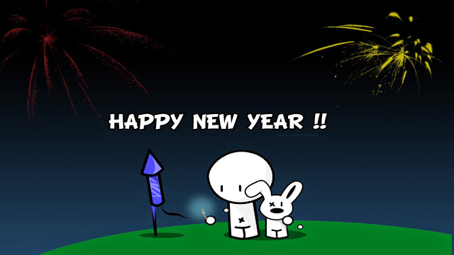 Funny New Year 2017 images cartoon