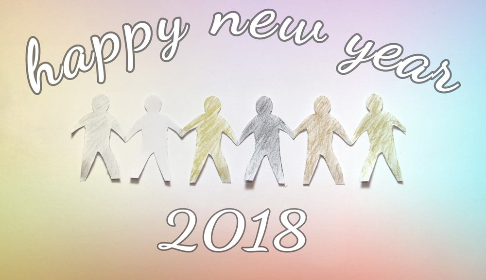 Happy New Year 2018 Creative Kids Wishes Images Babies