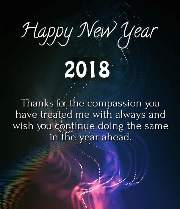 Happy New Year 2018 Wishes For Elders